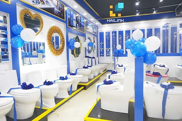 Tầng 2 showroom Long Biên